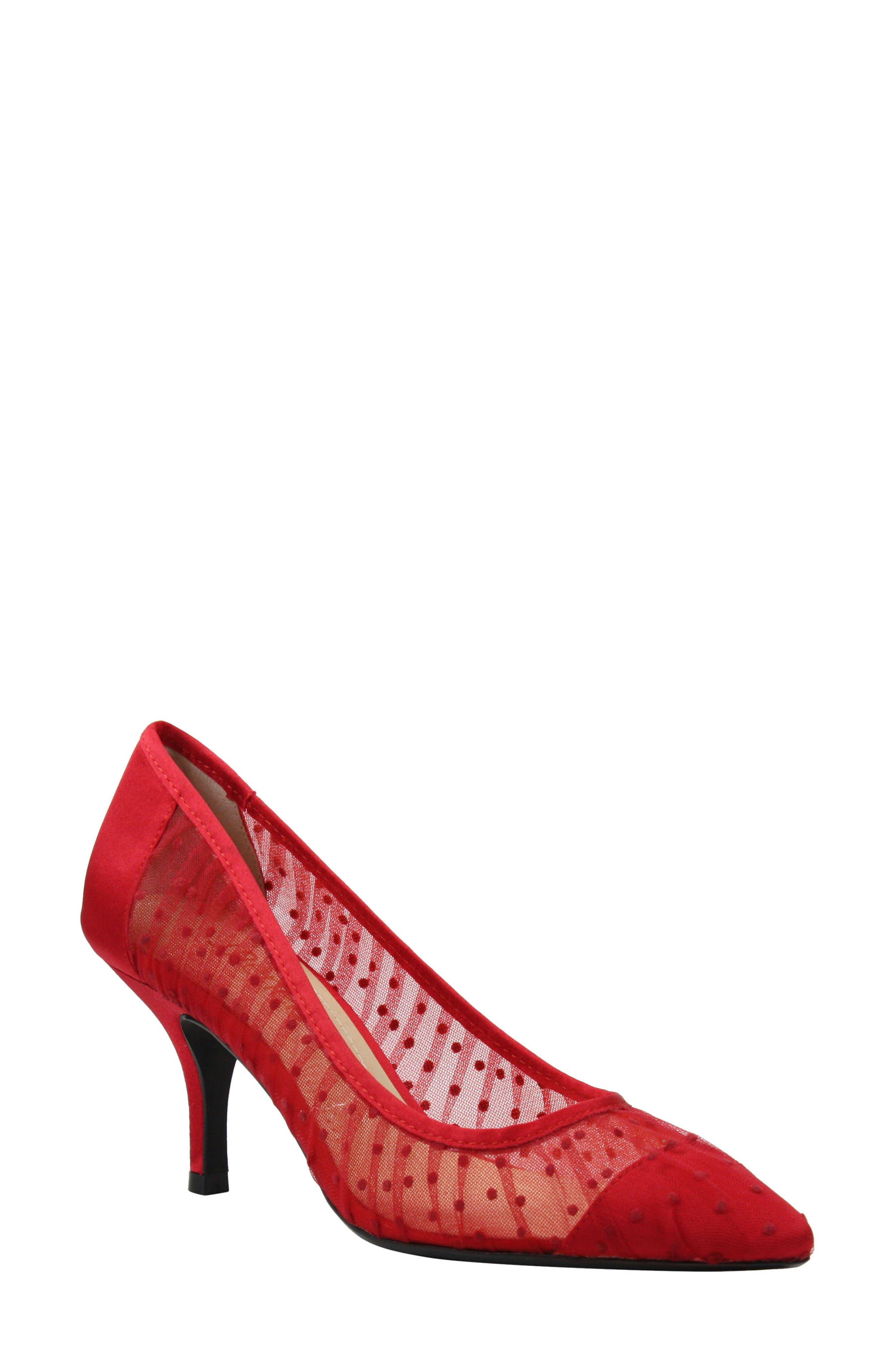J. Renee Ellian Pump, Red