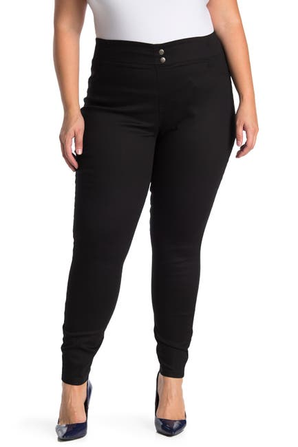 Image of HUE Classic Smooth Denim Leggings