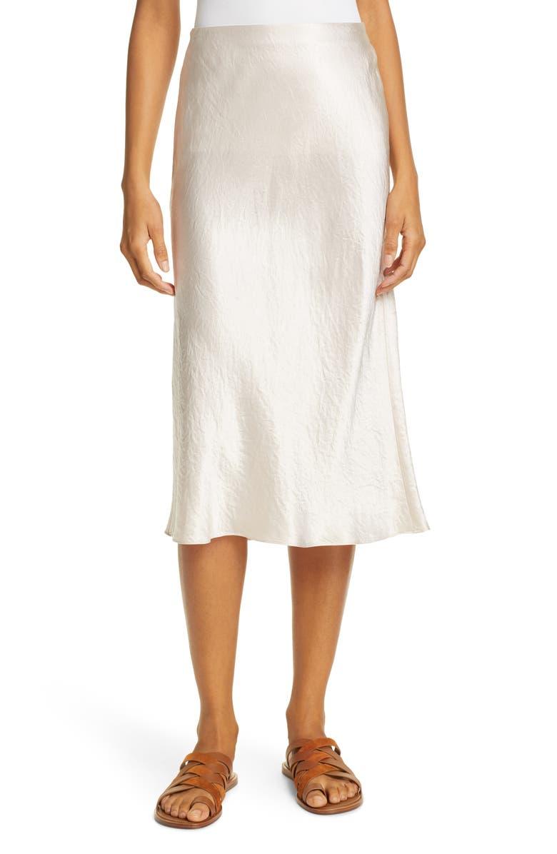 VINCE Slip Skirt, Main, color, CHAMPAGNE