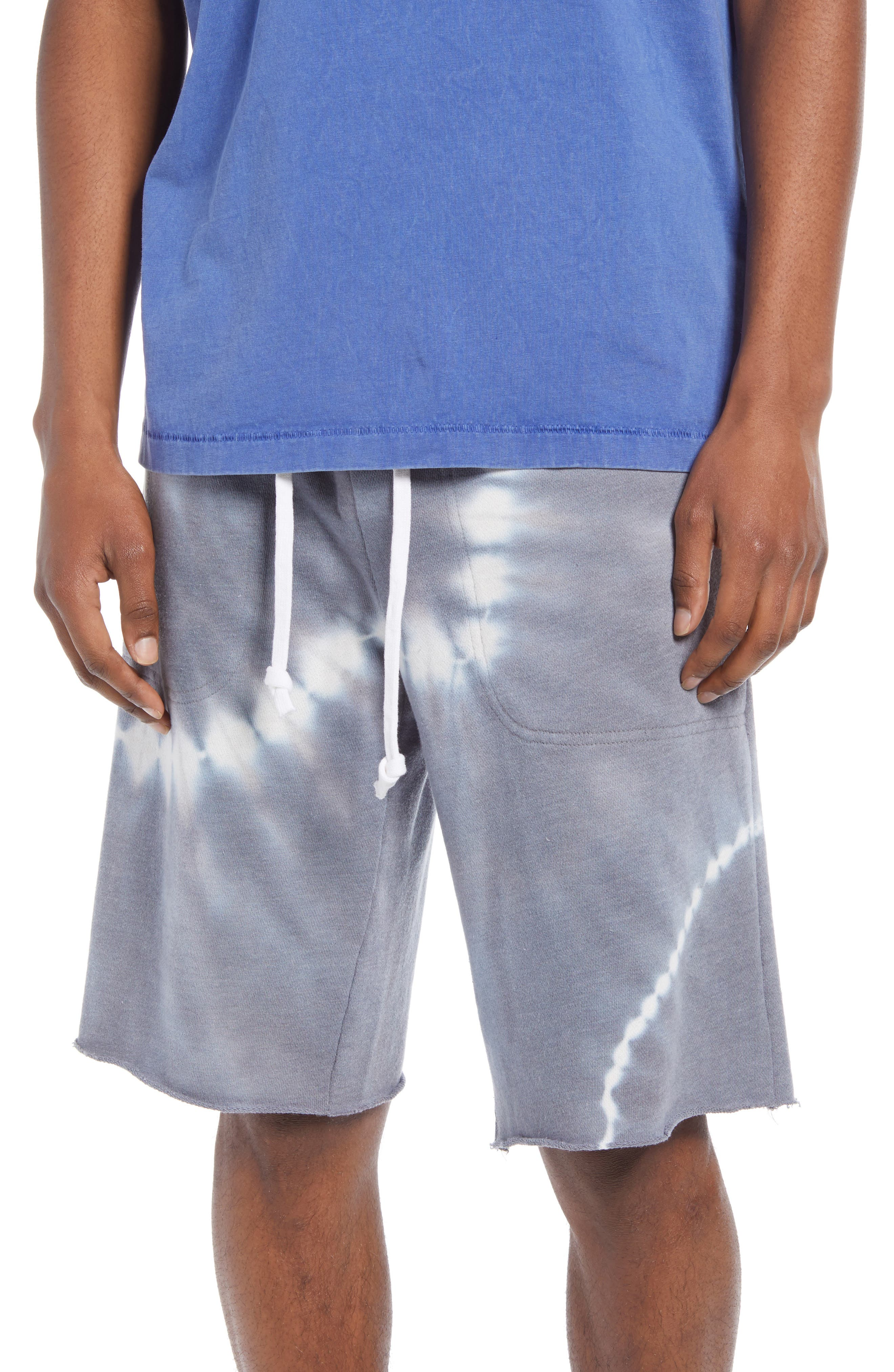 Men's Victory Washed French Terry Cutoff Shorts