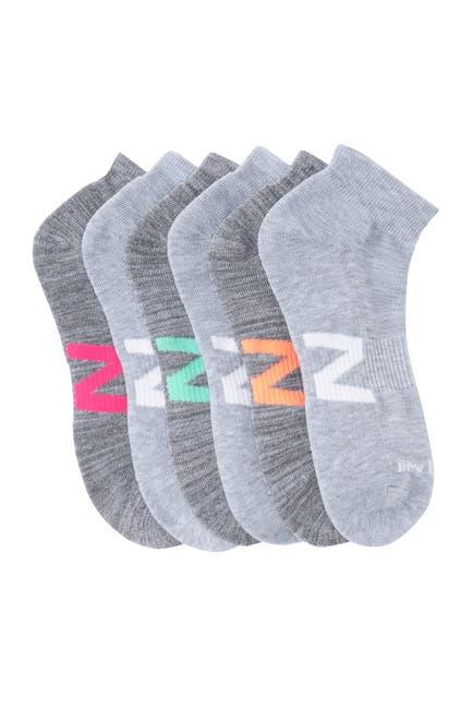Image of New Balance Active Cushion Quarter Crew Performance Socks - Pack of 6