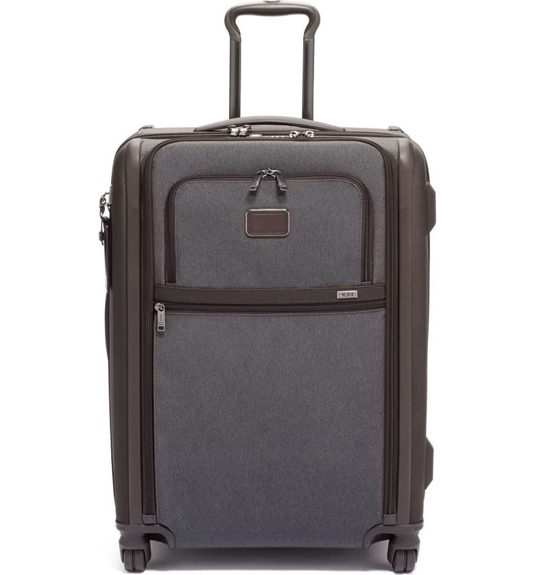 TUMI Alpha 3 Short Trip Wheeled 26-Inch Packing Case, Main, color, ANTHRACITE