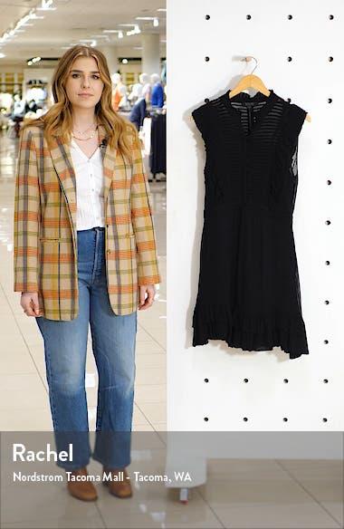 Lola Pintuck Chiffon Minidress, sales video thumbnail