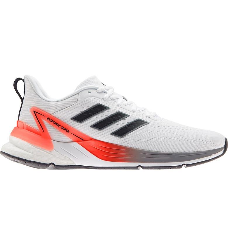 ADIDAS Response Super 2.0 Running Shoe, Main, color, FTWWHT/CBL