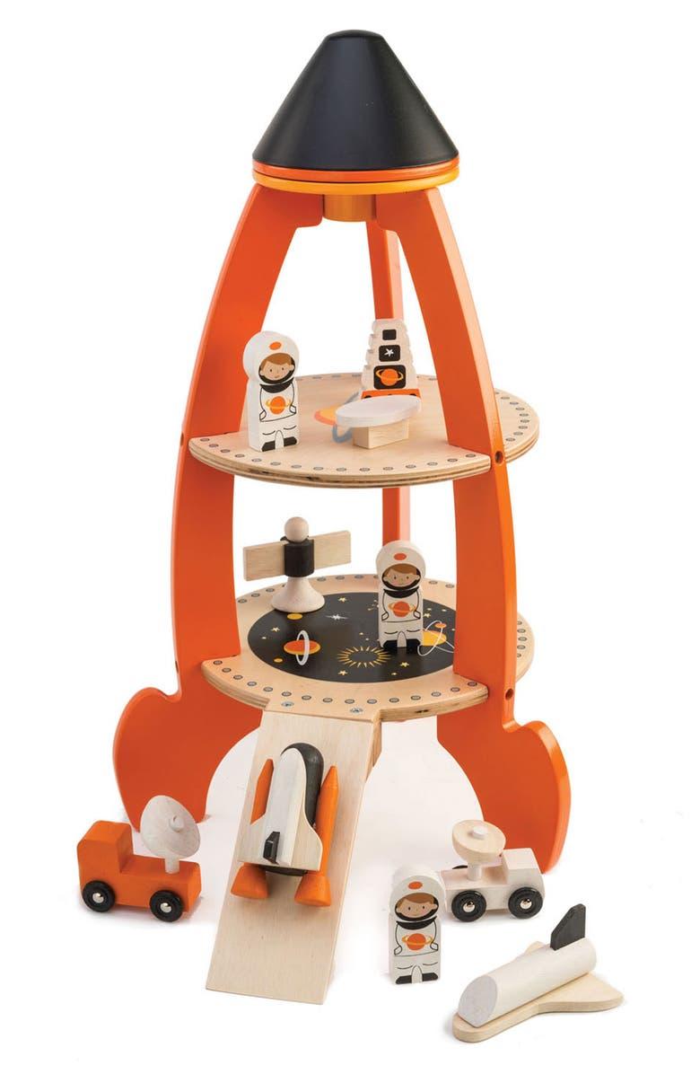 TENDER LEAF TOYS Cosmic Rocket Set, Main, color, ORANGE