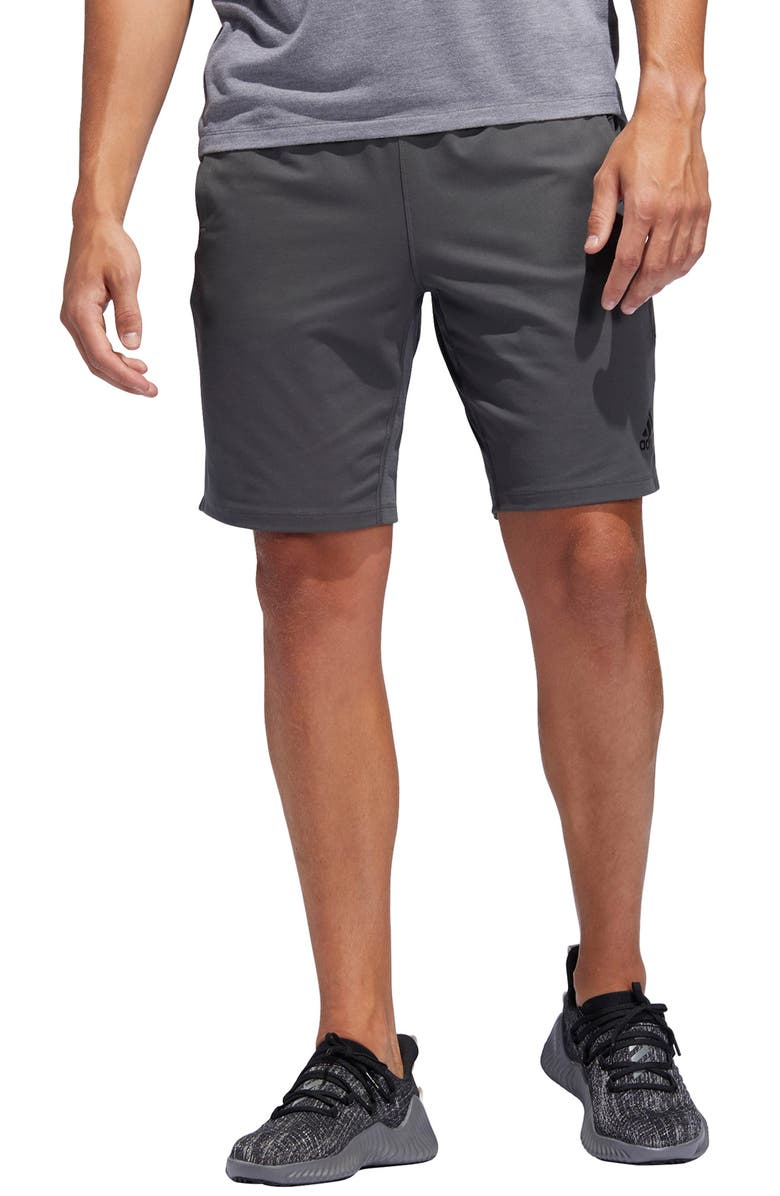 ADIDAS 4KRFT Sport Ultimate Athletic Shorts, Main, color, GREY SIX