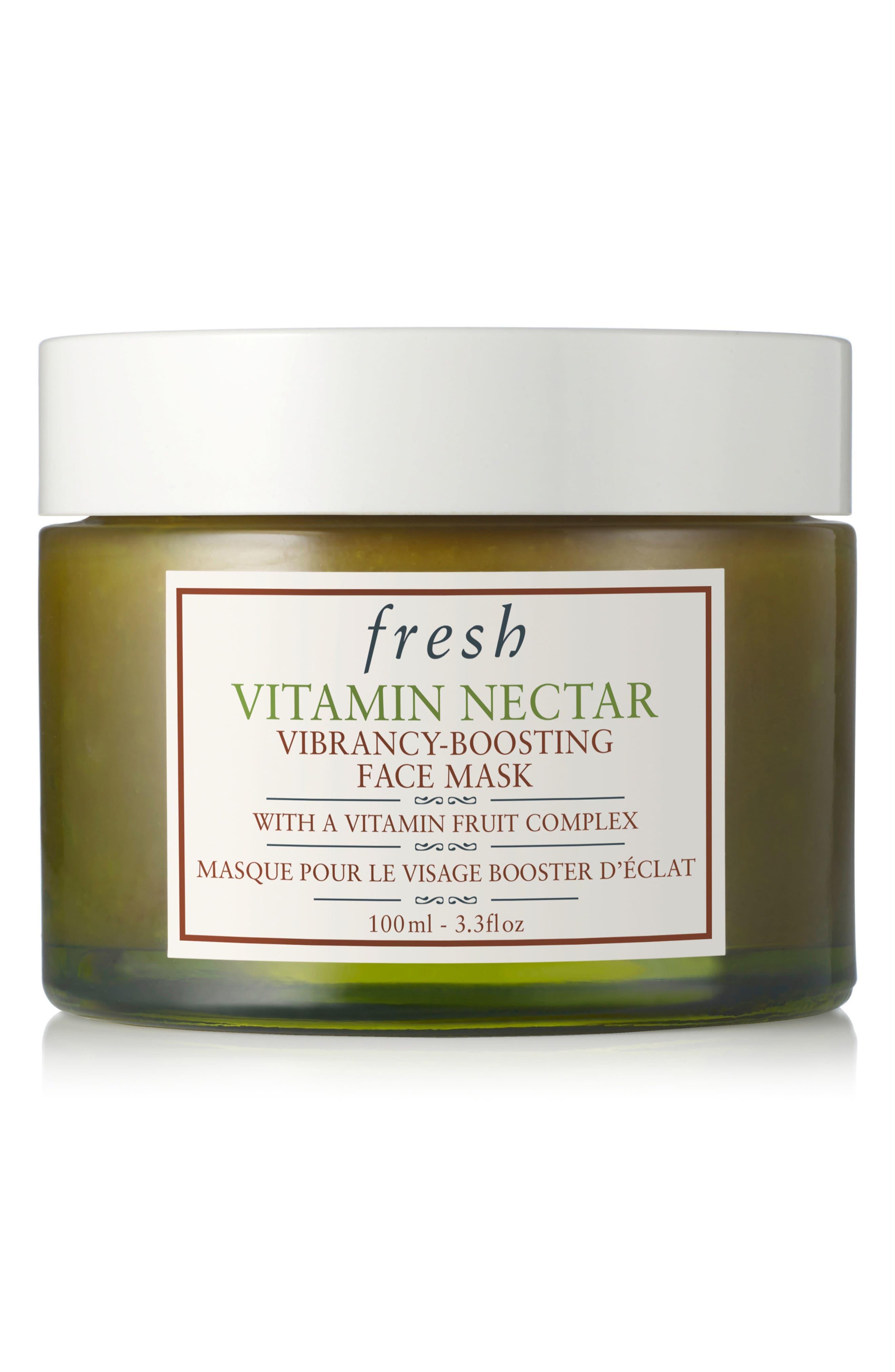 Fresh Vitamin Nectar Vibrancy-Boosting Face Mask, Size 1 oz