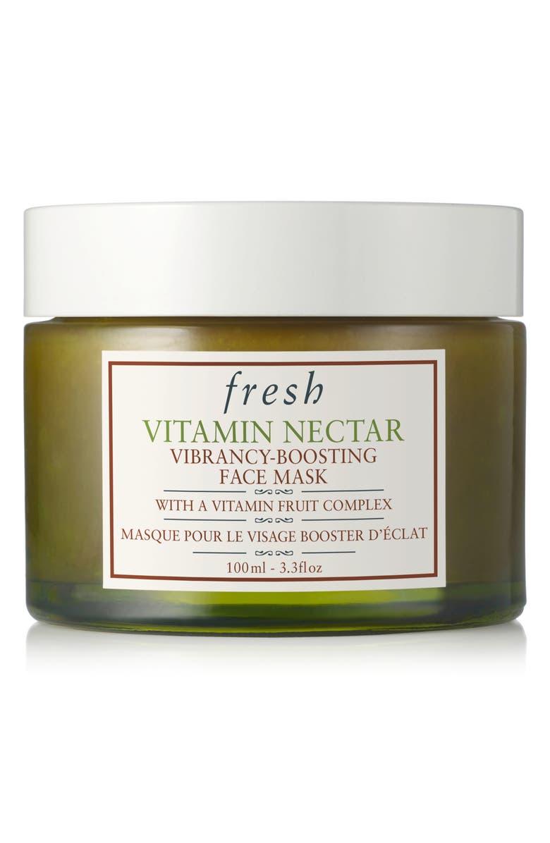 FRESH<SUP>®</SUP> Vitamin Nectar Vibrancy-Boosting Face Mask, Main, color, NO COLOR