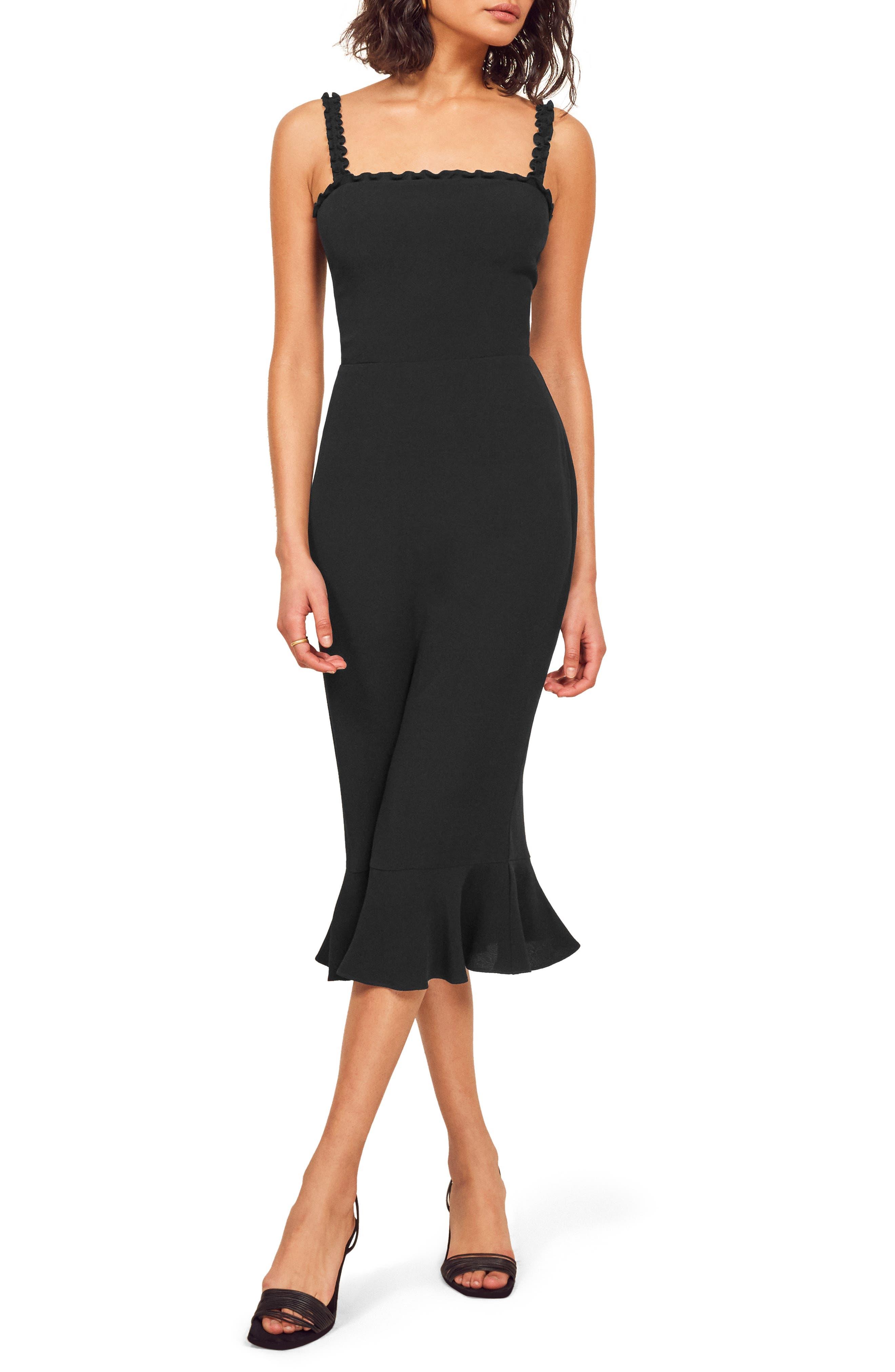 Reformation Wilshire Body-Con Dress