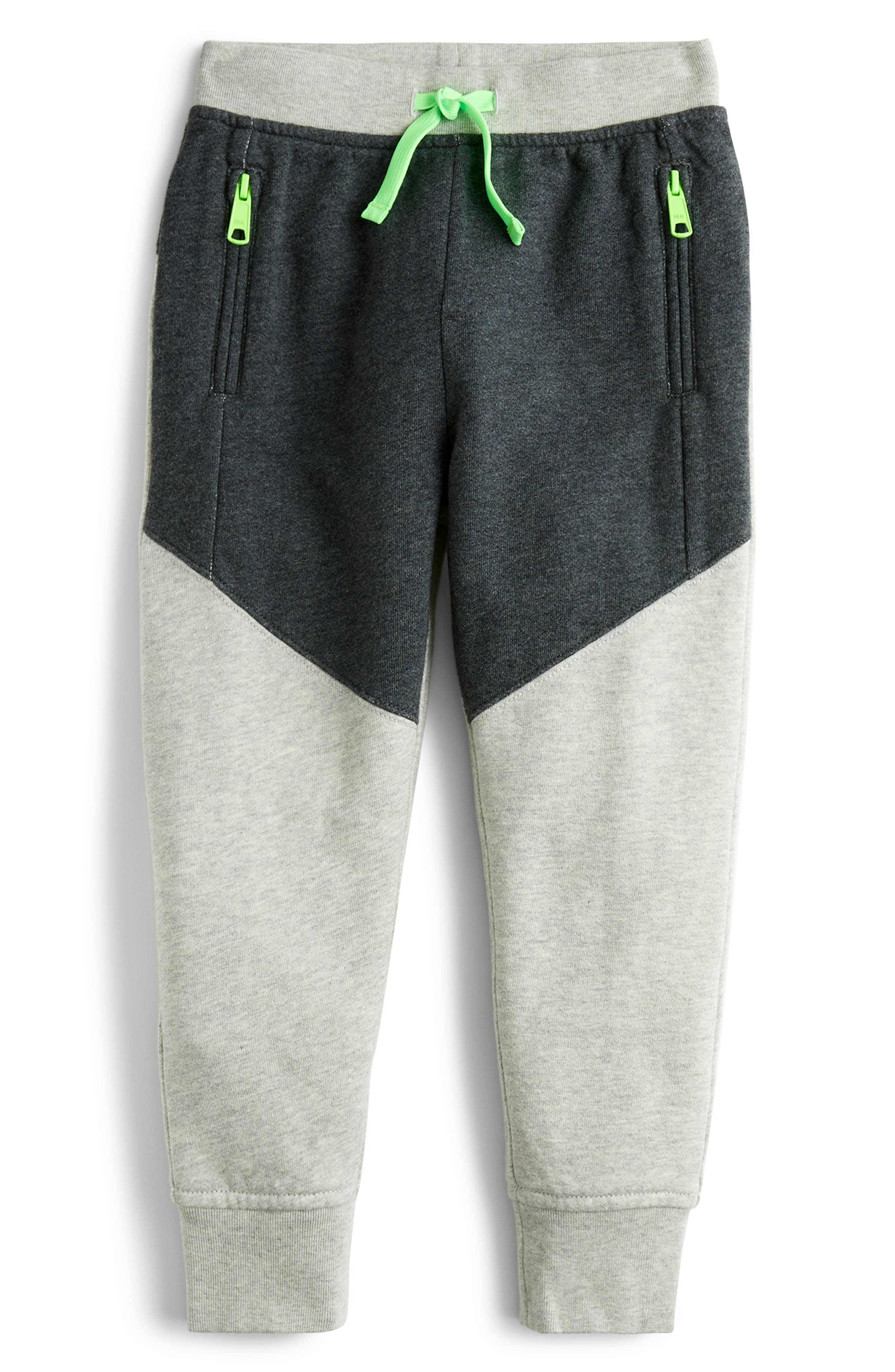 Boys Crewcuts By Jcrew Colorblock Sweatpants Size 14  Grey