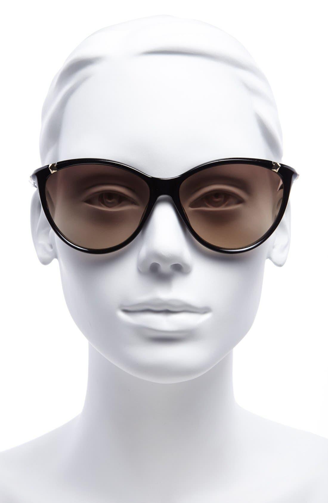 ,                             'Camila' 60mm Sunglasses,                             Alternate thumbnail 2, color,                             001