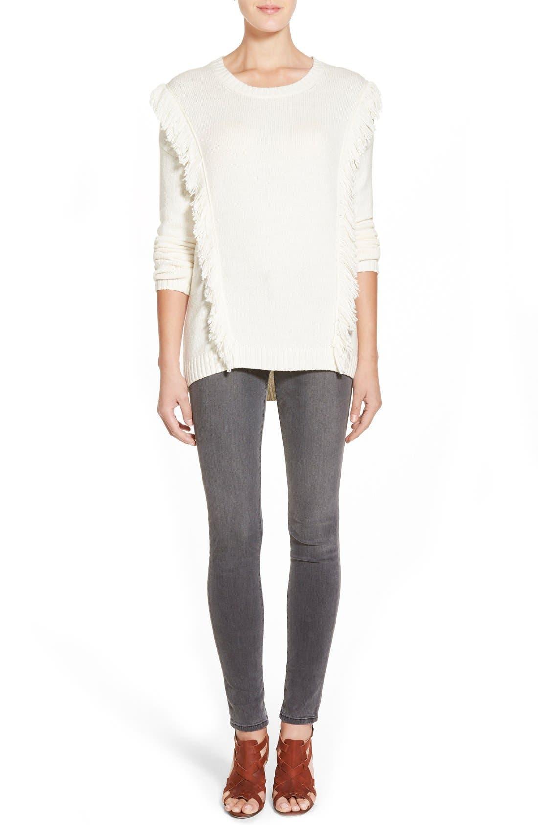 ,                             '620' Mid Rise Skinny Jeans,                             Alternate thumbnail 7, color,                             005