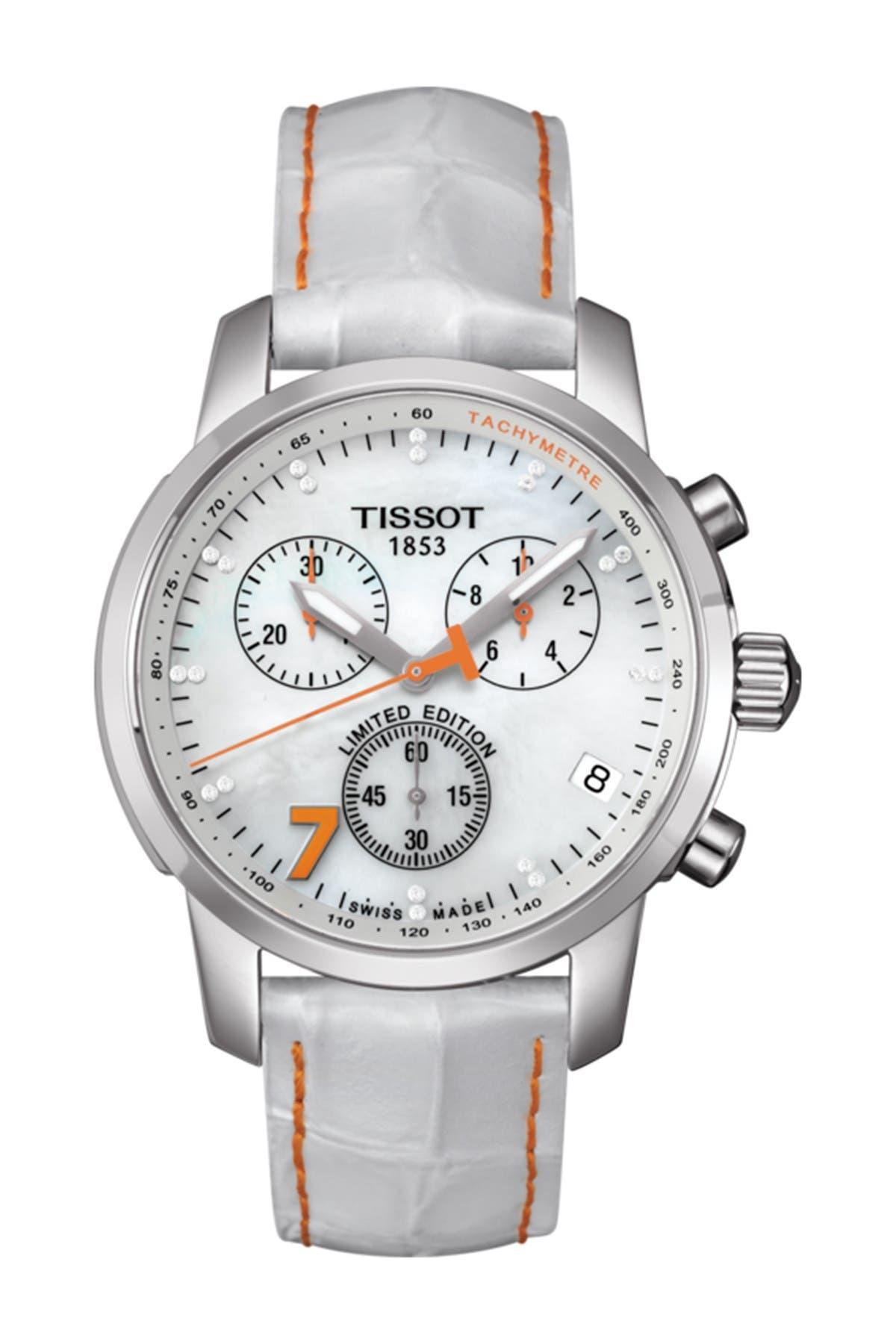 Image of Tissot Women's PRC 200 Danicca Patrick Diamond Watch, 43mm - 0.086 ctw