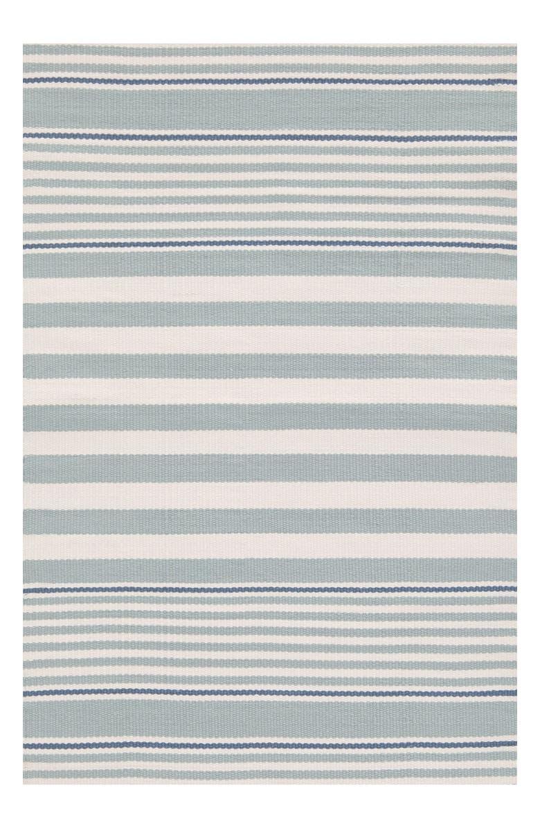 DASH & ALBERT Stripe Indoor/Outdoor Rug, Main, color, 400