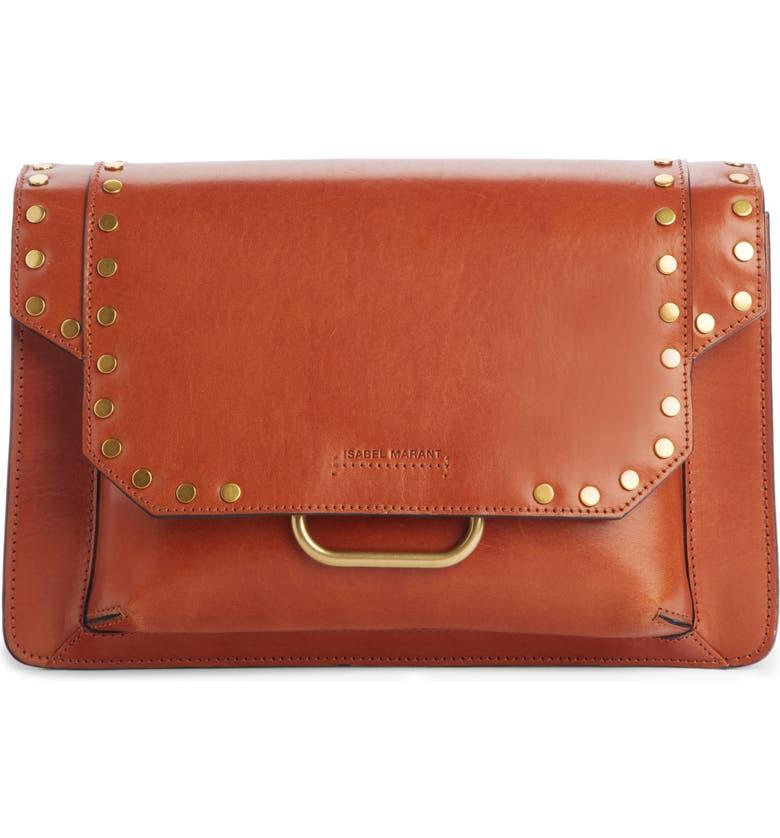 ISABEL MARANT Maskhia Studded Shoulder Bag, Main, color, 200