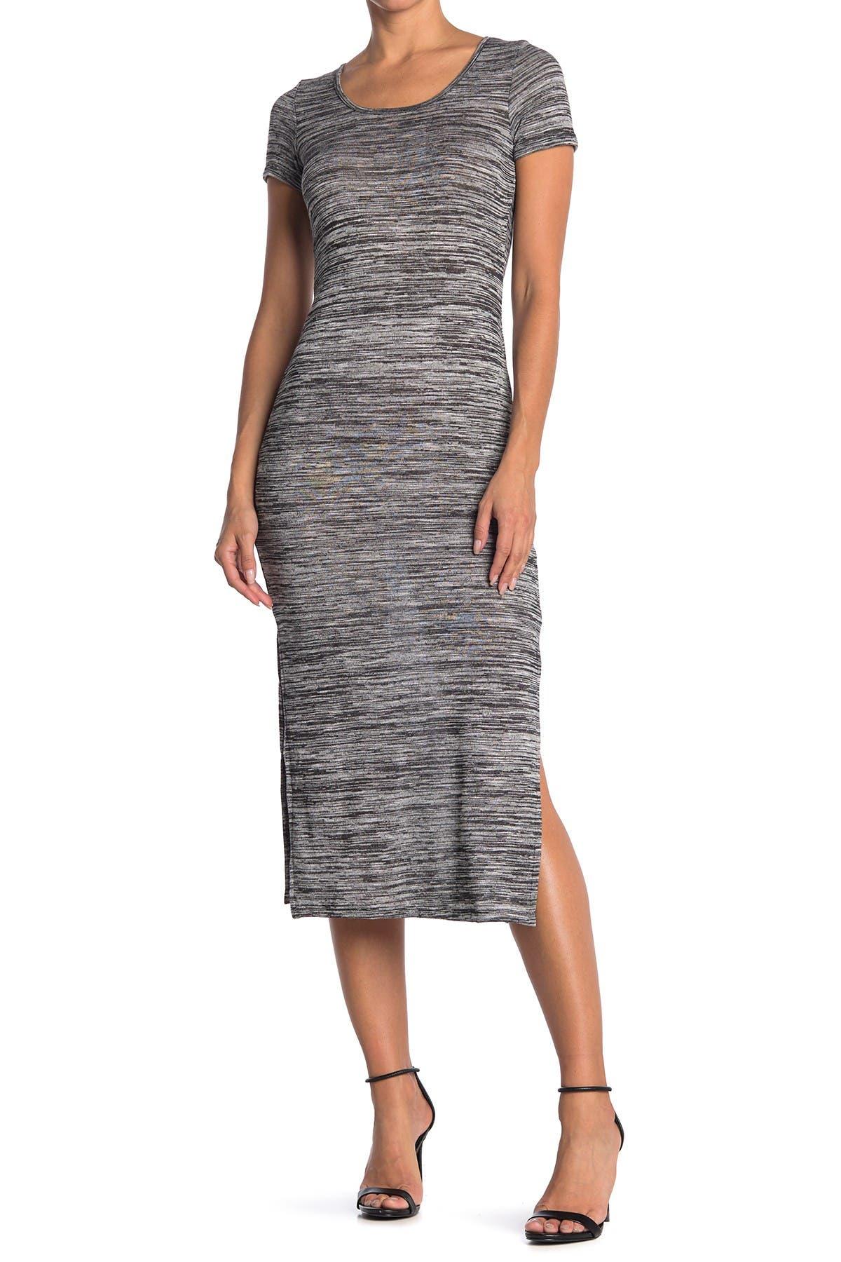 Image of Velvet Torch Cap Sleeve Midi Dress