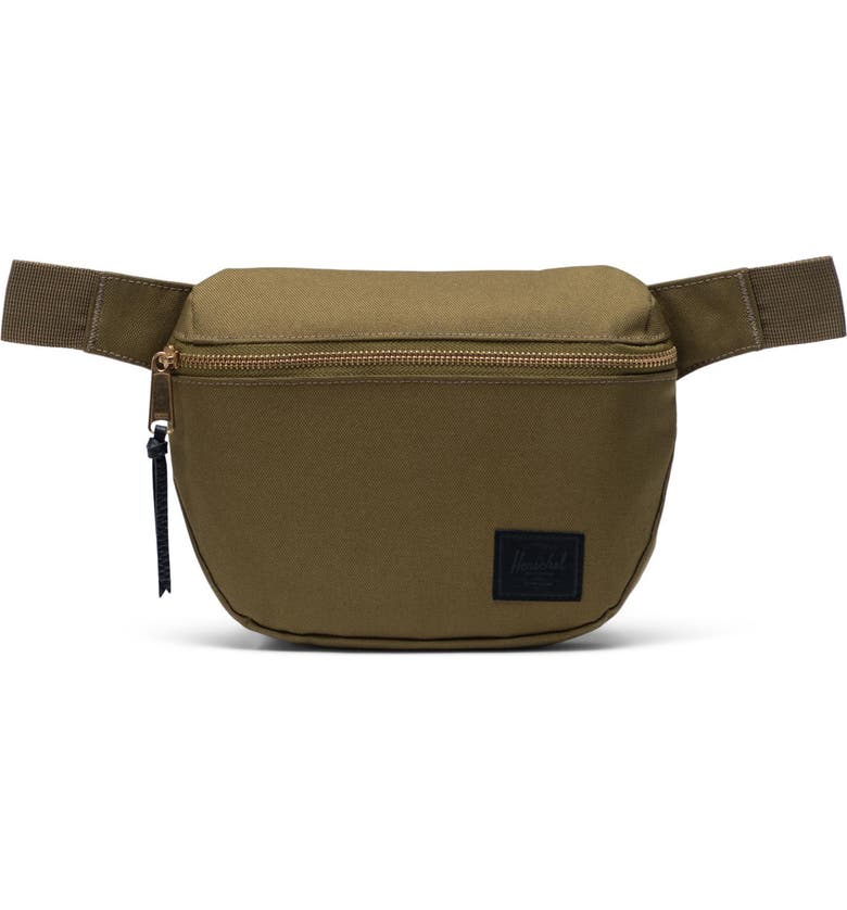 HERSCHEL SUPPLY CO. Fifteen Belt Bag, Main, color, KHAKI GREEN