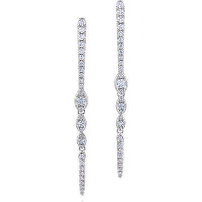 Kwiat Vine Diamond Drop Earrings