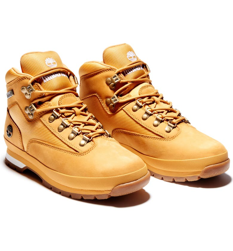 TIMBERLAND Euro Hiker Boot, Main, color, WHEAT NUBUCK