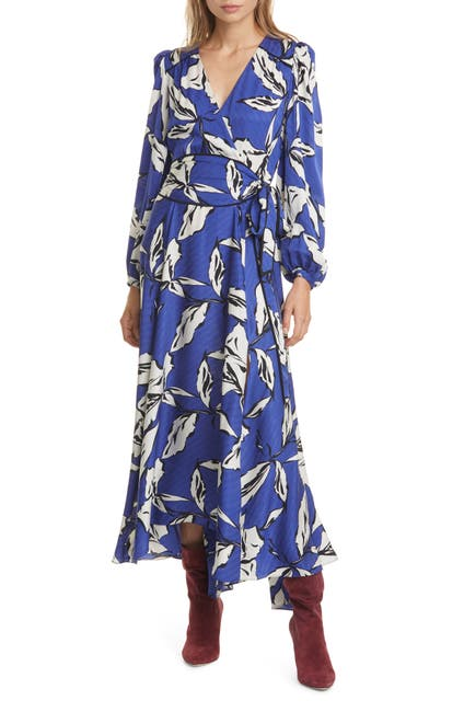Image of VERONICA BEARD Mclean Floral Silk Maxi Dress