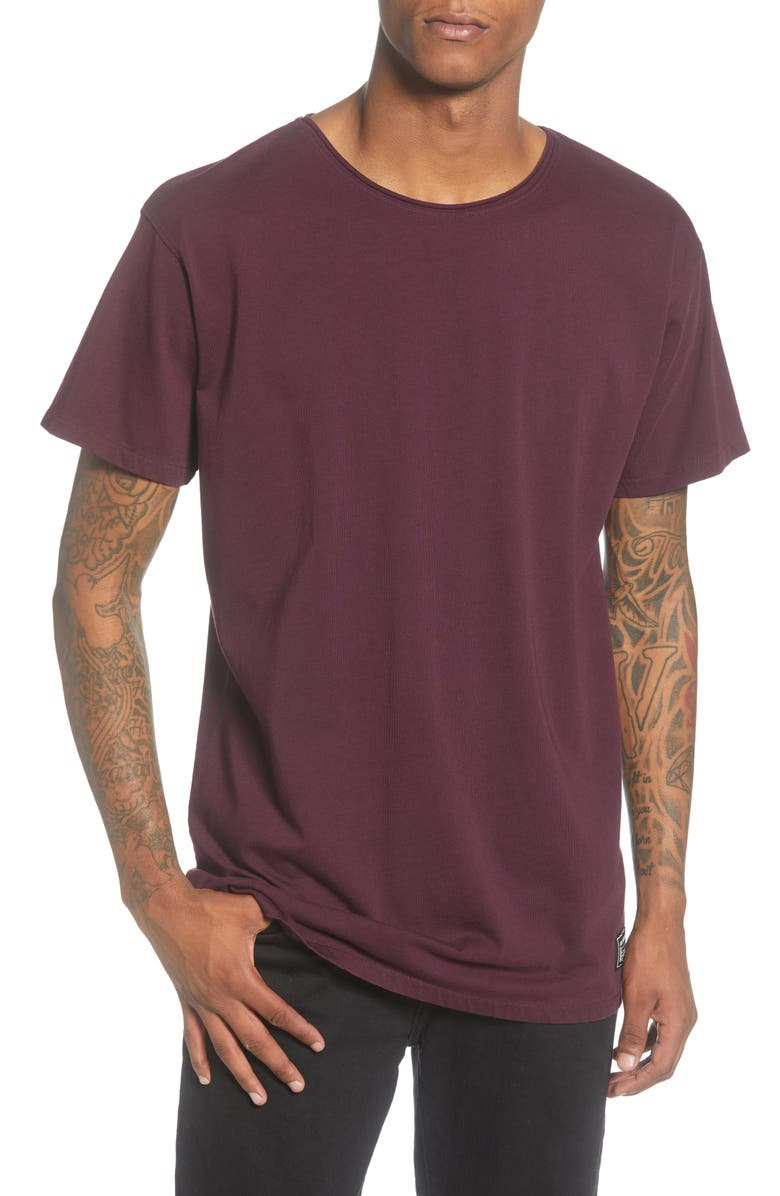 SCOTCH & SODA Regular Fit Crewneck T-Shirt, Main, color, ENAMEL PURPLE