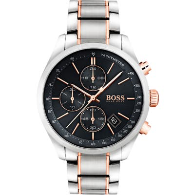 Boss Grand Prix Chronograph Bracelet Watch, 4m