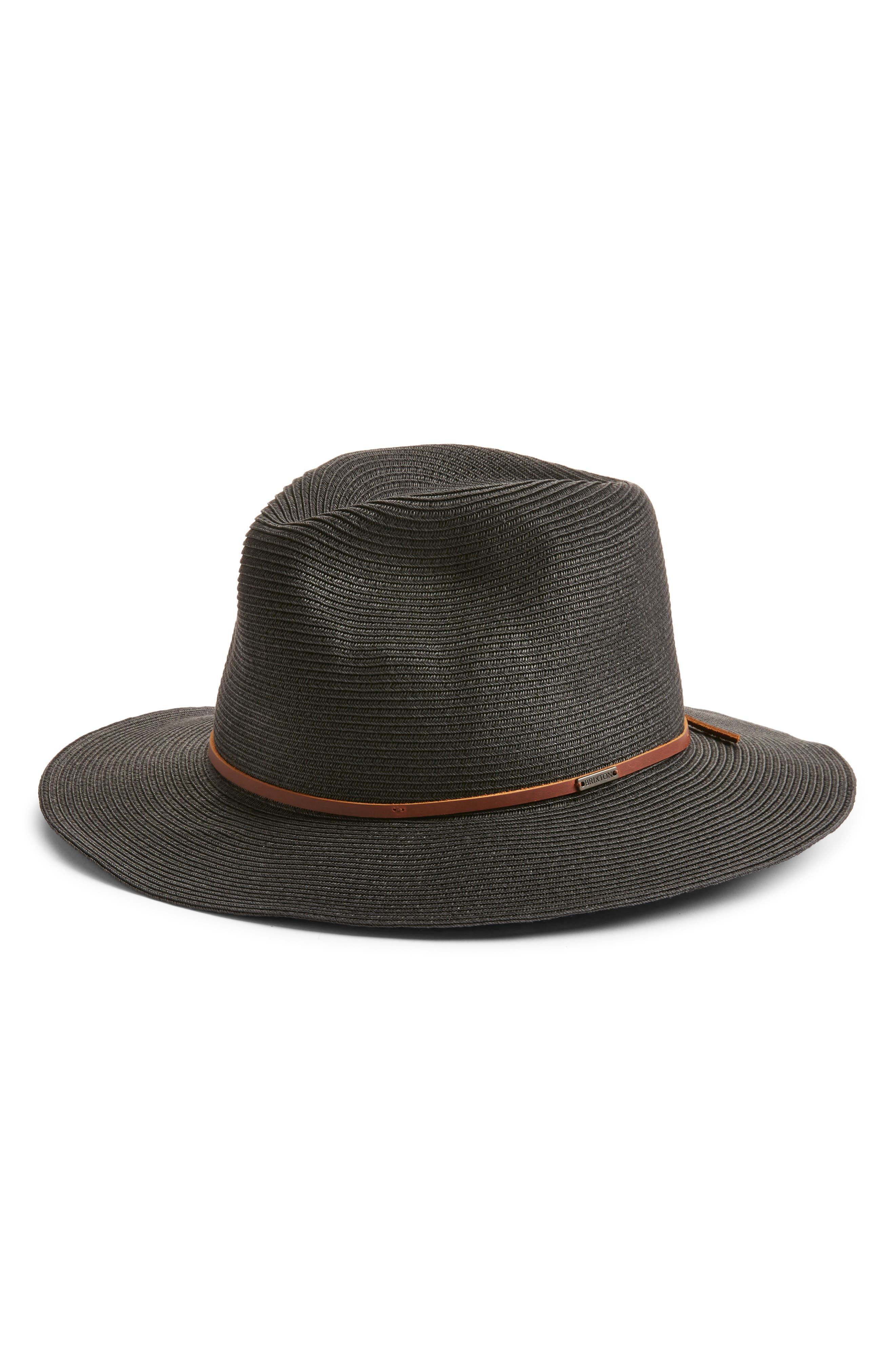 Wesley Packable Straw Fedora