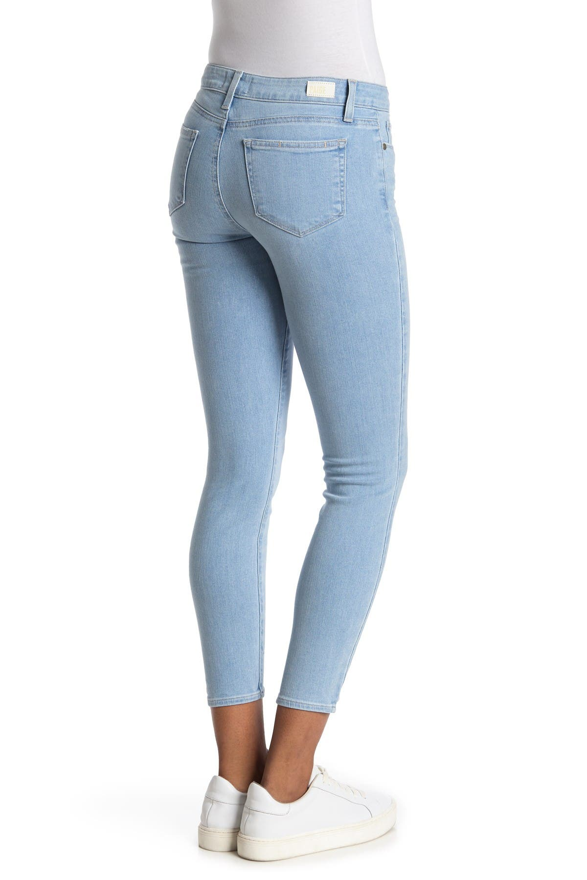 Image of PAIGE Verdugo Ankle Skinny Jeans