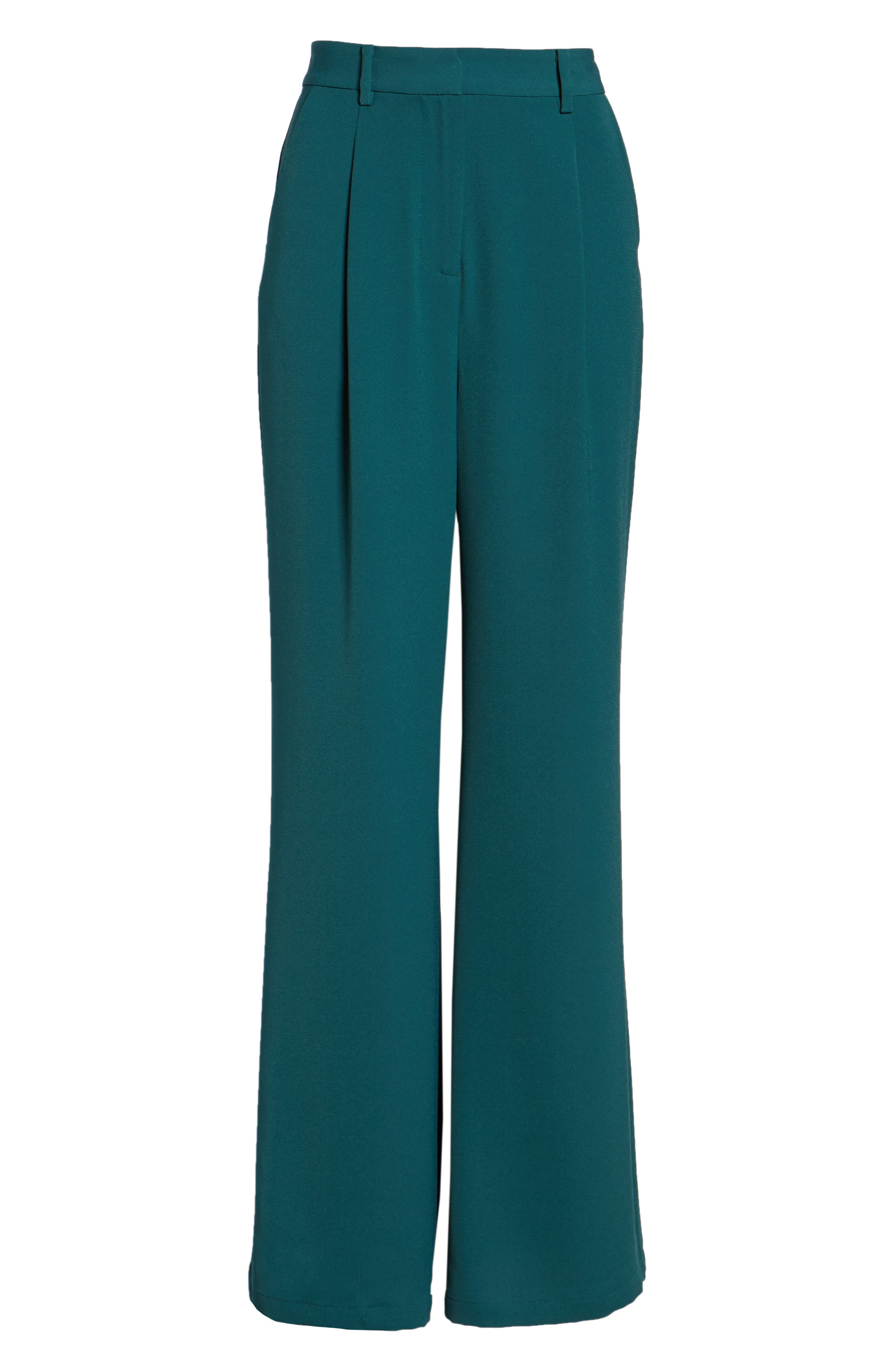 ,                             High Waist Flare Pants,                             Alternate thumbnail 29, color,                             301