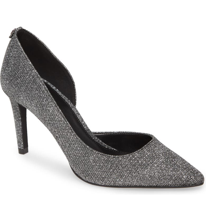 MICHAEL MICHAEL KORS Dorothy Flex Pump, Main, color, BLACK/ SILVER