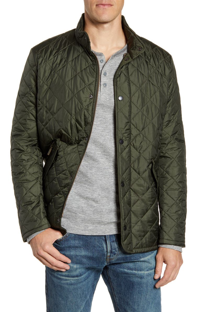 BARBOUR Flyweight Chelsea Quilted Jacket, Main, color, 301