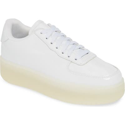 Jeffrey Campbell Court Sneaker, White