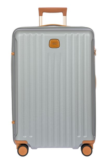 Bric's Capri 2.0 27-inch Expandable Rolling Suitcase In Silver