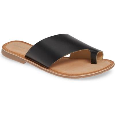 Chinese Laundry Gemmy Slide Sandal, Black