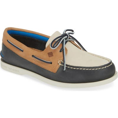 Sperry Plush Colorblock Loafer- Blue