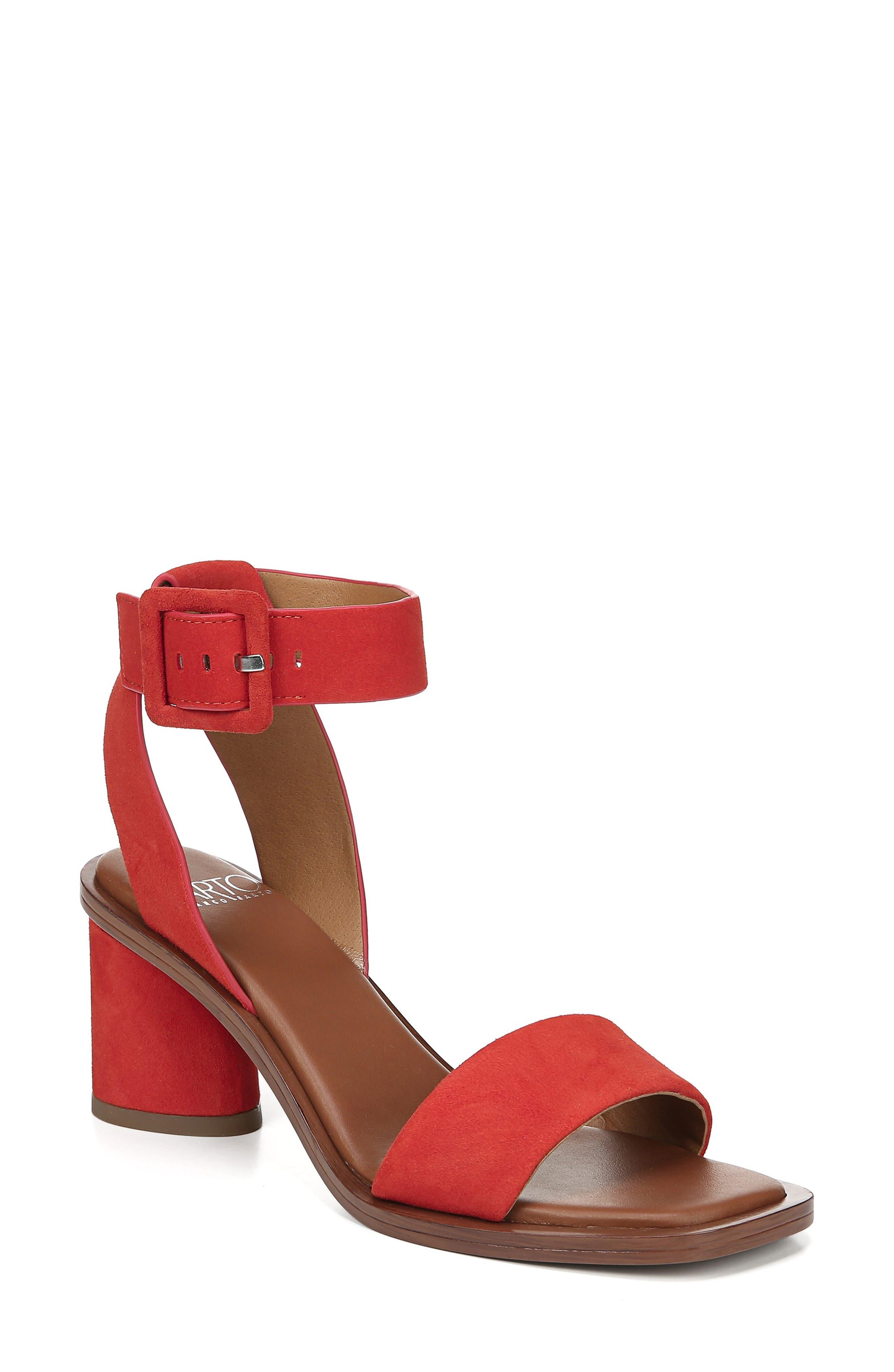 Sarto By Franco Sarto Risa Strap Sandal- Red
