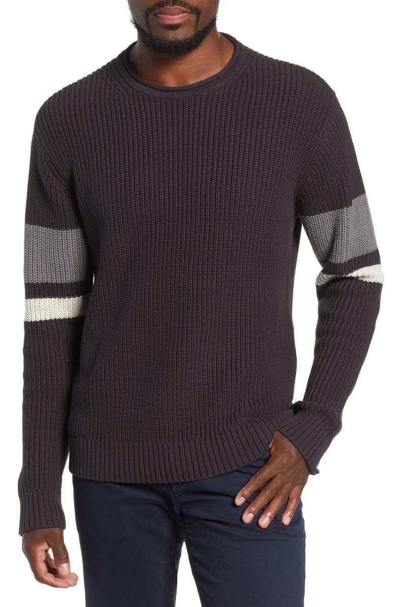 AG Jett Slim Fit Crewneck Sweater, Main, color, 016