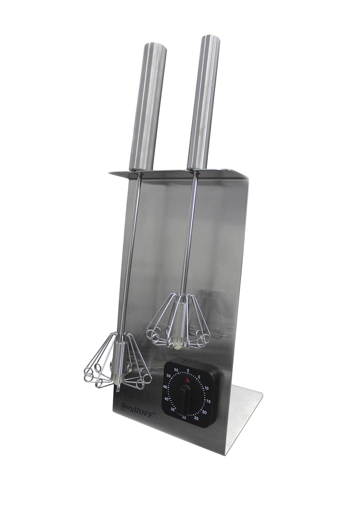 Image of BergHOFF Stainless Steel Whisk Stand & Timer Set