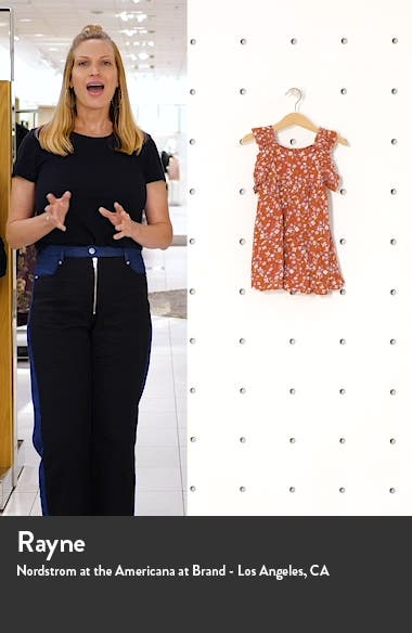 Floral Print Crinkle Sundress, sales video thumbnail