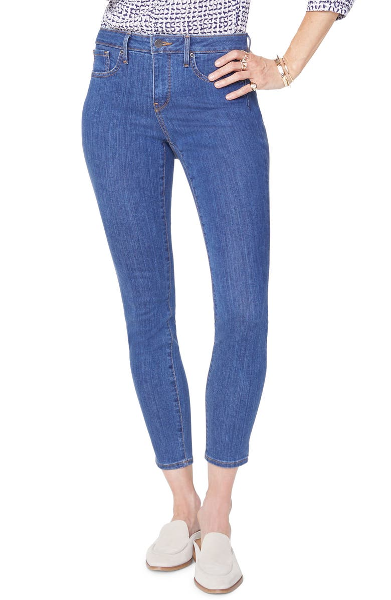 NYDJ Ami Skinny Jeans, Main, color, BATIK BLUE