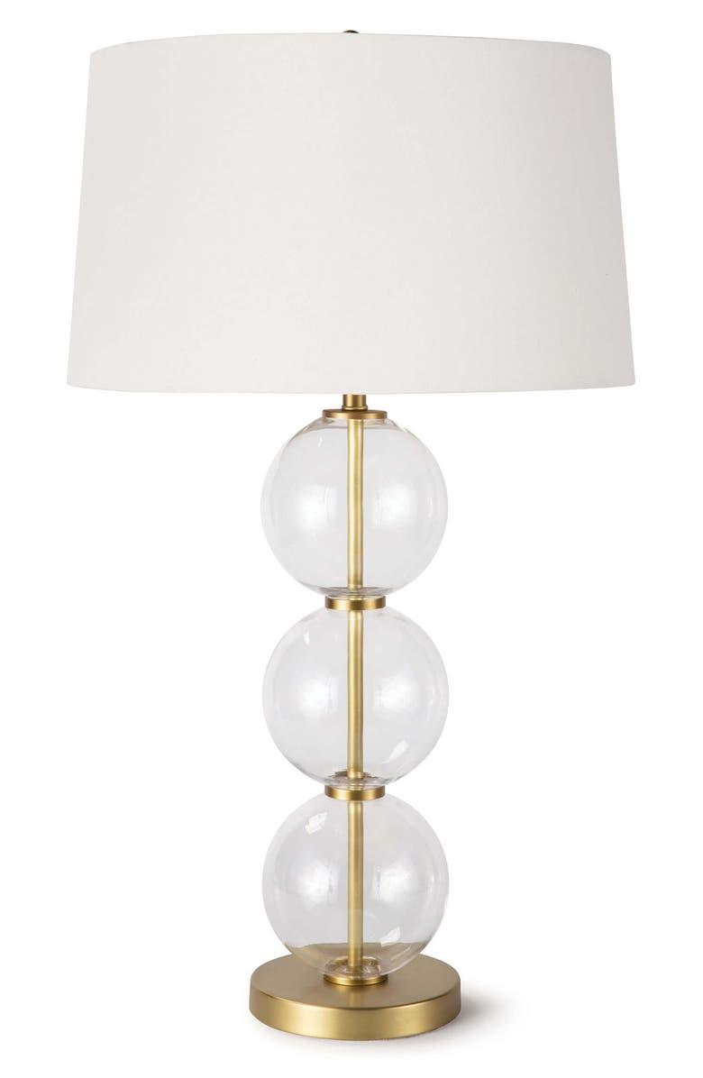 REGINA ANDREW DESIGN Camilla Glass Table Lamp, Main, color, 100