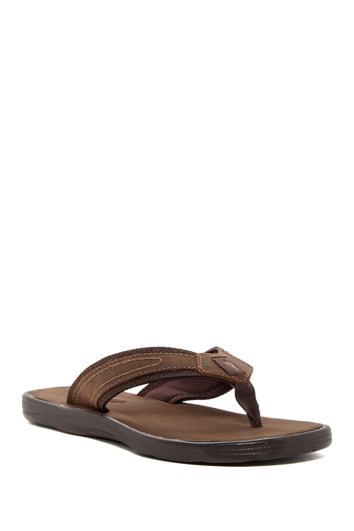 Tommy Bahama   Sumatraa Leather Flip