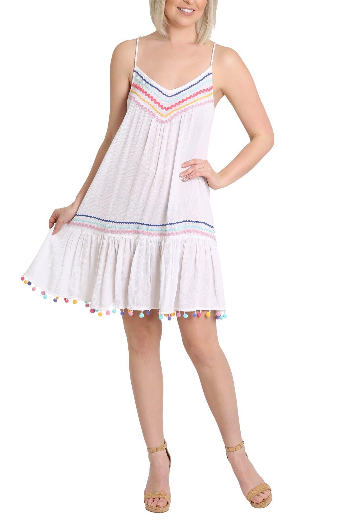 Image of Nanette Lepore Selina Spaghetti Strap Dress