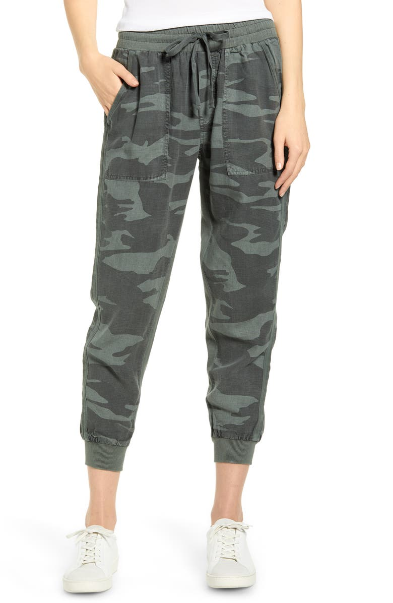 SPLENDID Lakeside Jogger Pants, Main, color, CAMO
