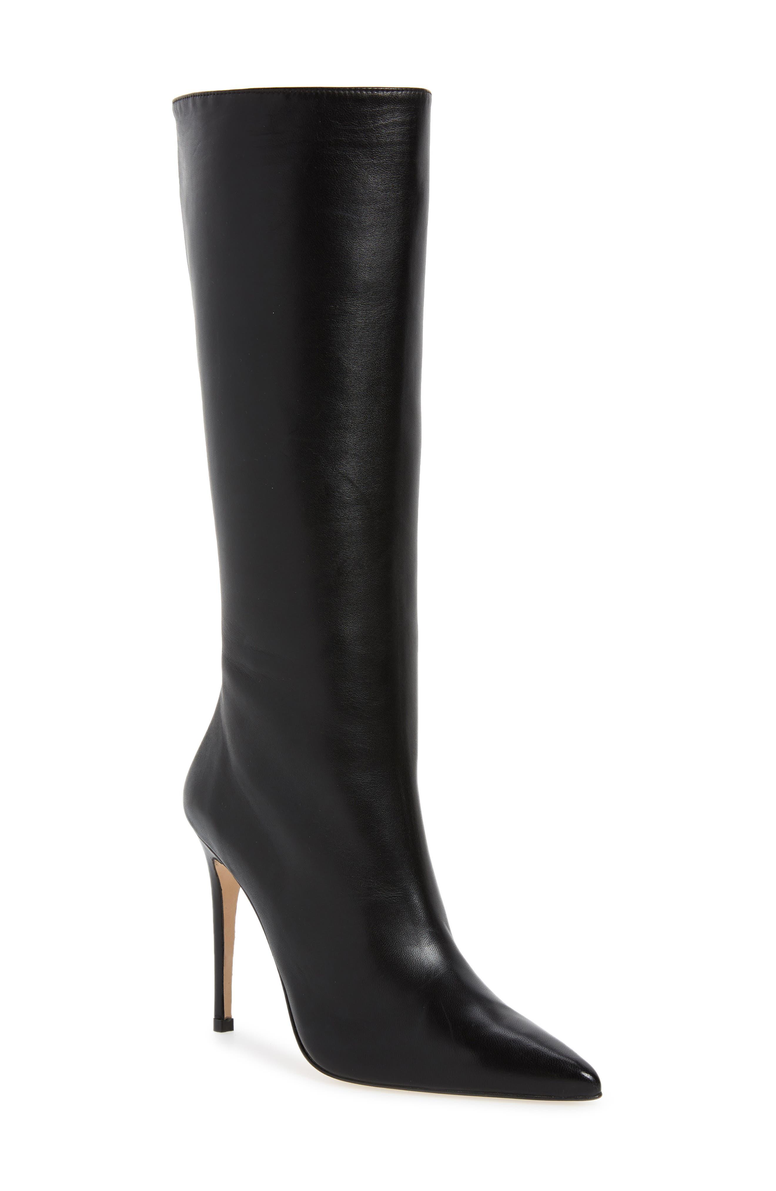 Porto Boot, Main, color, BLACK NAPPA