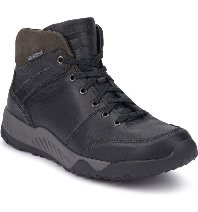 MEPHISTO Fausto Boot, Main, color, BLACK/ DARK GREY LEATHER