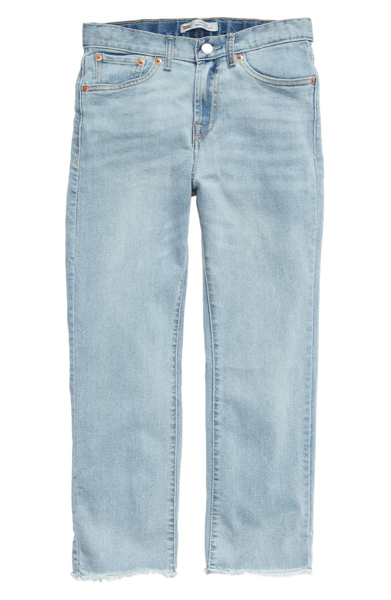 High Waist Straight Leg Jeans by Levi's®