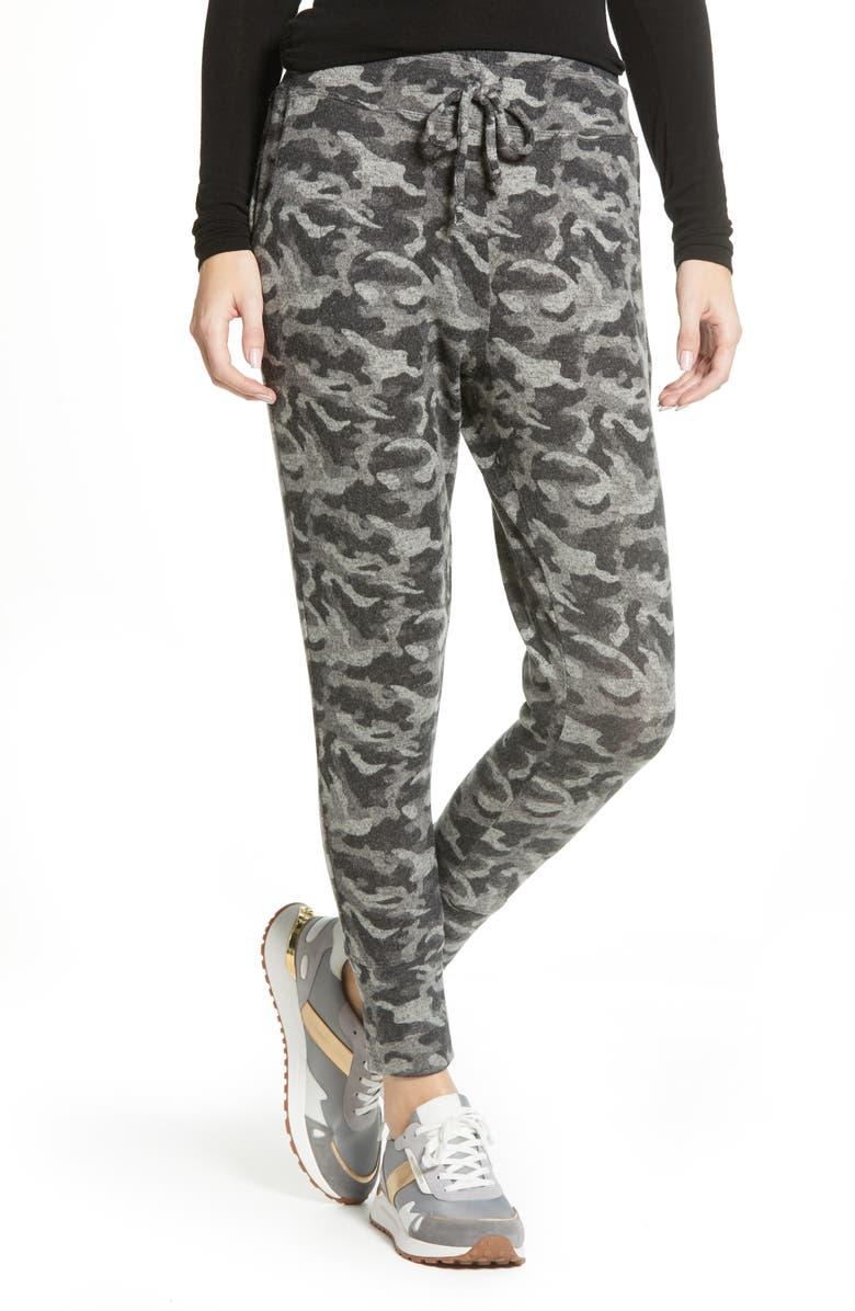 BOBEAU Cozy Jogger Pants, Main, color, 001