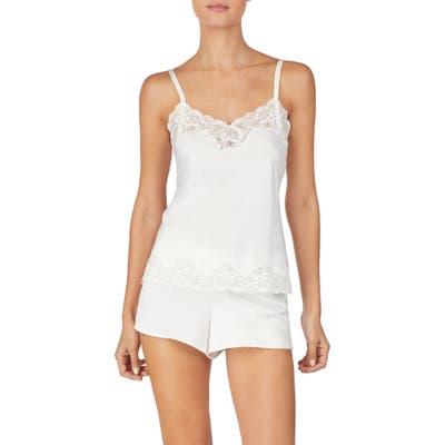Lauren Ralph Lauren Lace Trim Short Pajamas, Ivory