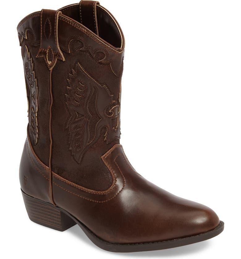 FRYE Carson Firebird Cowgirl Boot, Main, color, 204
